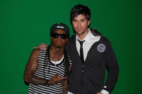 Enrique and Lil Wayne