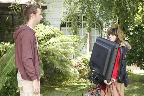 New Girl Hintergrund called Episode 1.02 - Kryptonite - Promotional Fotos