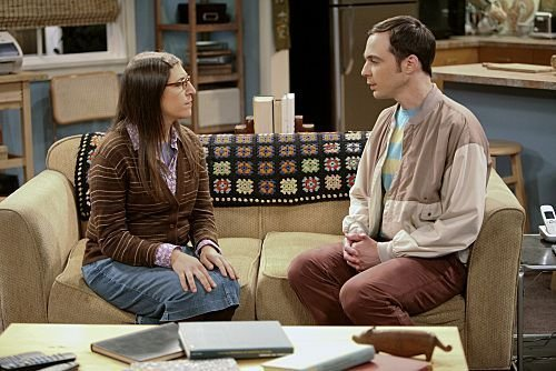 Amy and Sheldon