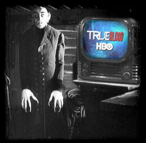 Even Nosferatu watches True Blood.