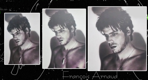 François Arnaud wallpaper probably with a portrait and anime entitled Francois 4