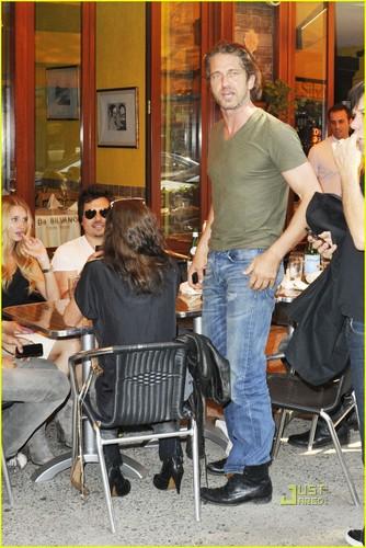 Gerard Butler: Da Silvano Lunch!