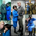 German guy and his Italian girlfriend cosplay Germany and Italy