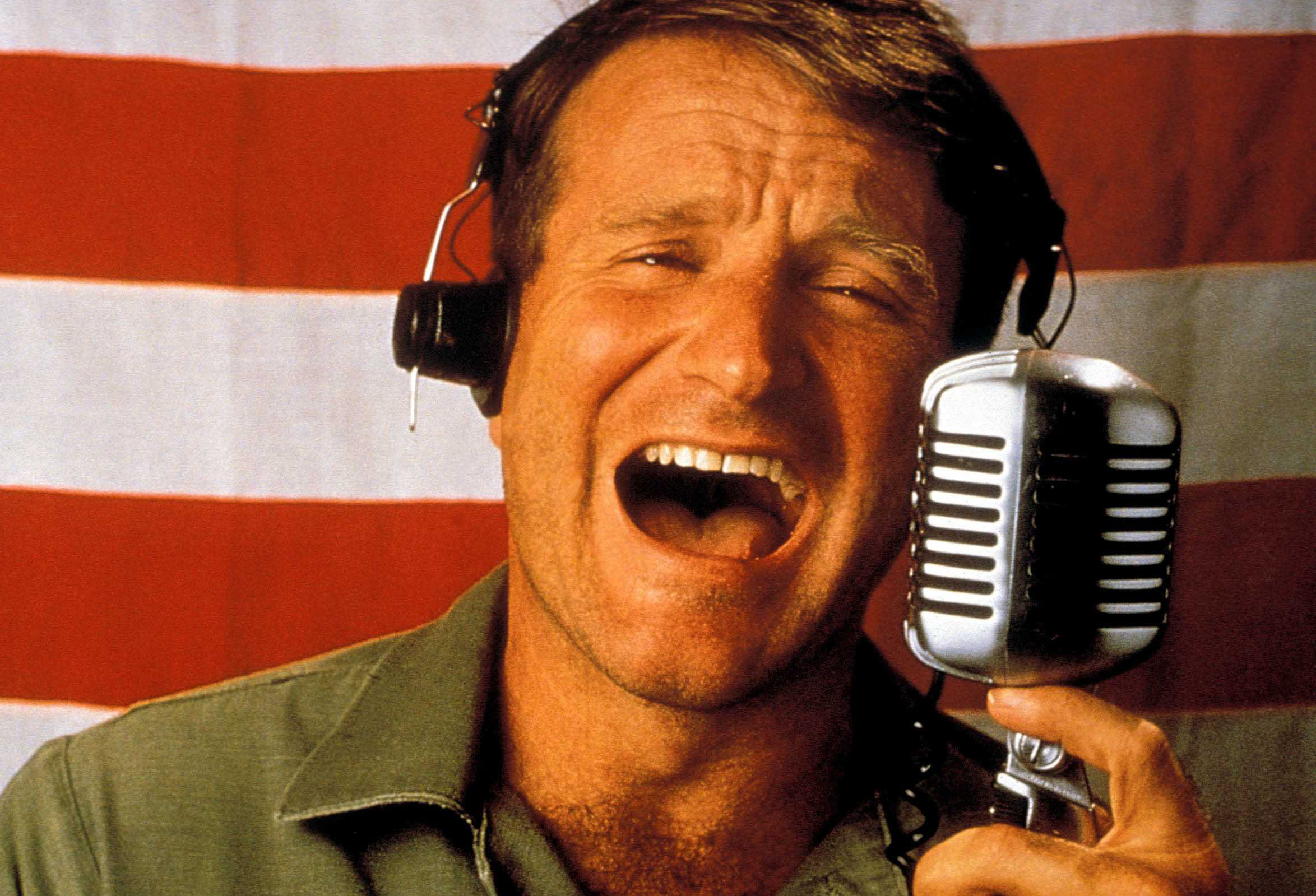 Good Morning Vietnam Oh My God It S Early : Most iconic robin williams roles patch adams guff