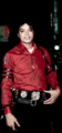 Gorgeous in Red - michael-jackson photo