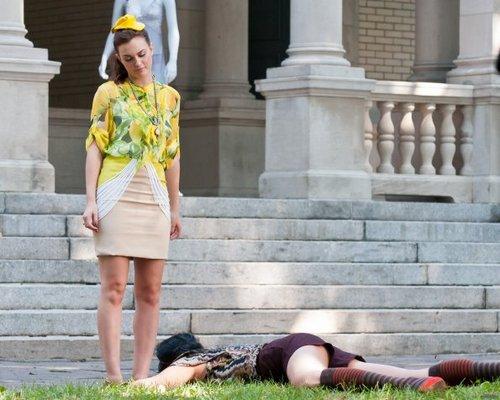 Gossip Girl - Season 5 - Set foto - 14th September 2011