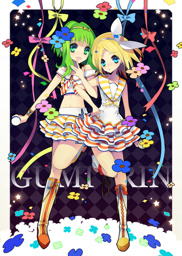 Gumi (Vocaloids) fondo de pantalla called Gumirumi