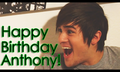 HAPPY BIRTHDAY ANTHONY!!!!!