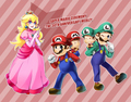 HAPPY DAY! - princess-peach-daisy-and-rosalina photo