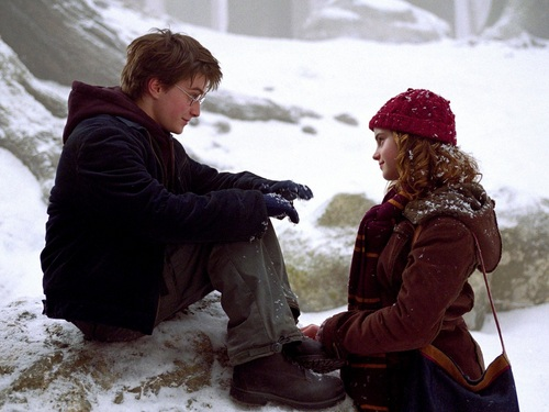 Harry and Hermione fond d'écran