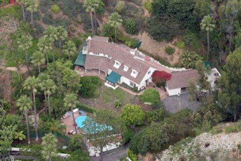 Hugh Laurie- Luxury home in LA, California