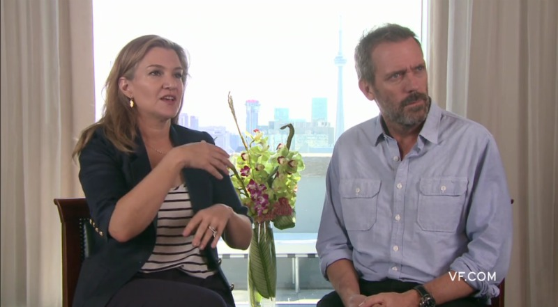 Hugh Laurie TIFF 2011: interview with Krista Smith for Vanity Fair.