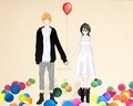 Ichiruki~ - bleach-ichigo-and-rukia wallpaper