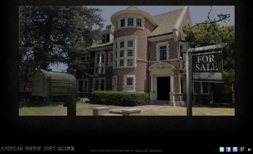 Invitation to FX's AMERICAN HORROR STORY Housewarming
