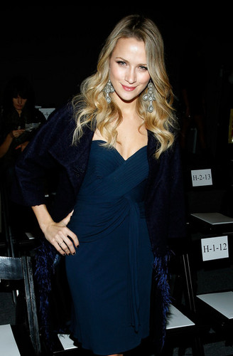 Jenny Packham - Front Row - Spring 2012 Mercedes-Benz Fashion Week