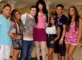 Jersey Shore Cast with Jane Lynch
