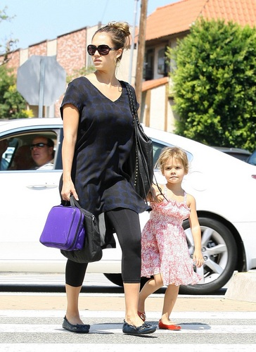 Jessica - Going to the doctor in Santa Monica - September 13, 2011
