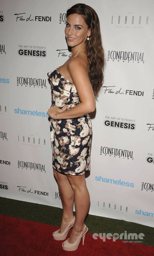 Jessica Lowndes: pre-Emmy Party in West Hollywood, Sep 15