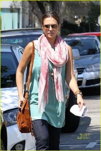Jessica out in Santa Monica