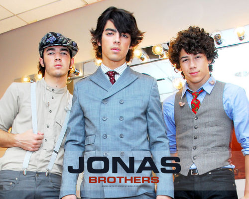 Jonas Brothers backdtage 2008