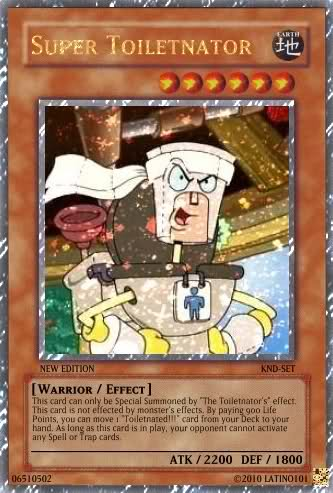 KND Yu-Gi-Oh-Cards