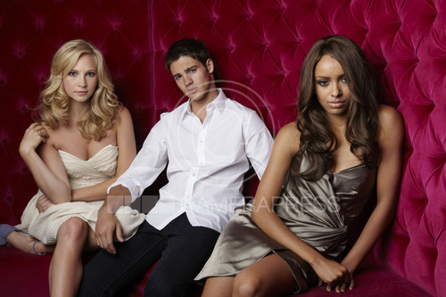 Kat, Candice and Steven photoshoot
