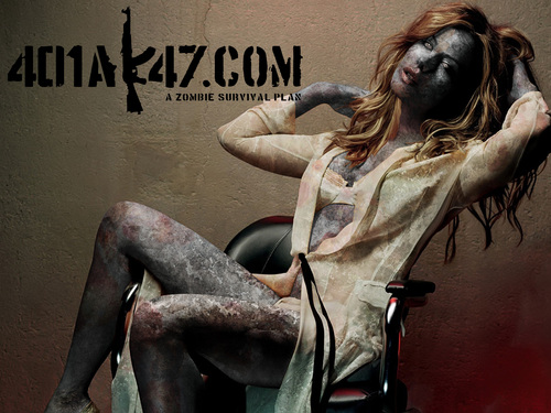 Kate Beckinsale Zombie