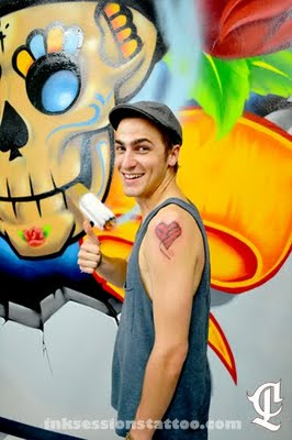 Kendall's third tattoo