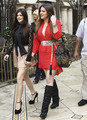 Khloe Kardashian &amp; Kylie Jenner At The Grove - kylie-jenner photo