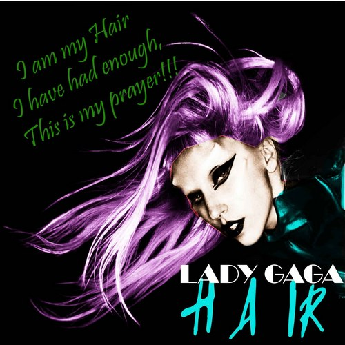 Lady Gaga Hair Fanmae Covers
