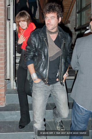 Leaving the SoHo House Pop Up Club [September 11, 2011]