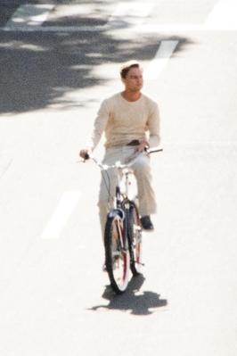 Leo rides a bike on the Gatsby Set (9.12.11)