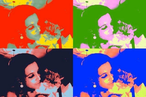 Lisa & cat