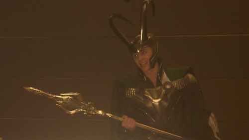 Loki (Thor 2011) wallpaper entitled Loki Smiling