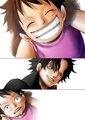 Luffy & Ace