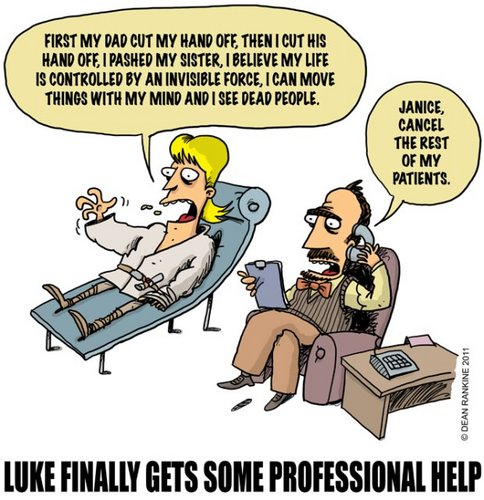 Luke needs professional help;)