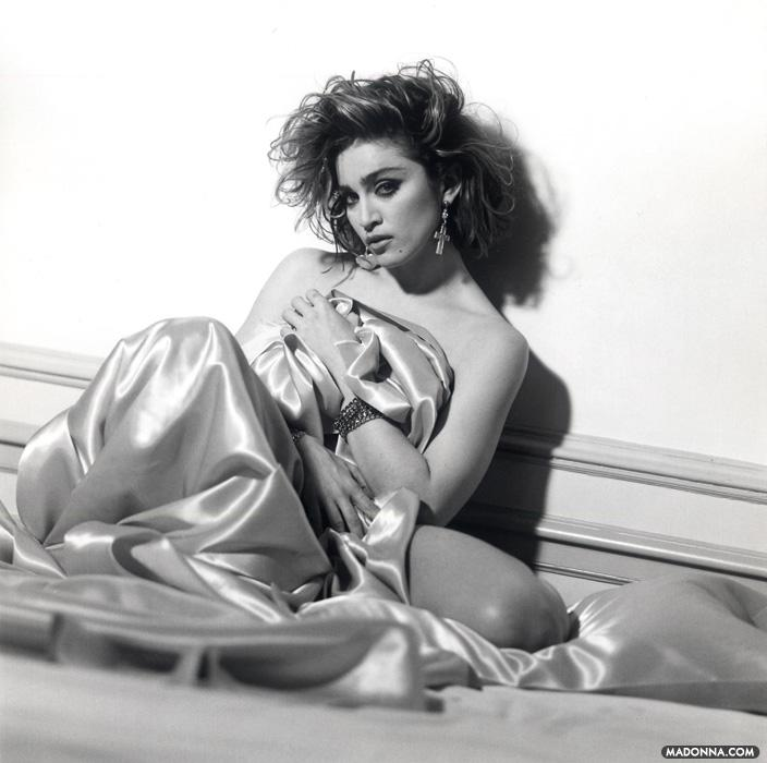 "Madonna ""Like a Virgin"" Album Photoshoot"