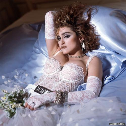"Madonna ""Like a Virgin"" Album Photoshoot"