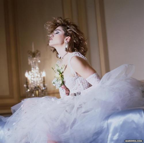 "Madonna fond d'écran probably with a bridesmaid titled Madonna ""Like a Virgin"" Album Photoshoot"