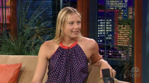 maria sharapova fondo de pantalla possibly with a vestido de verano, sundress and a chemise entitled Maria-Sharapova.