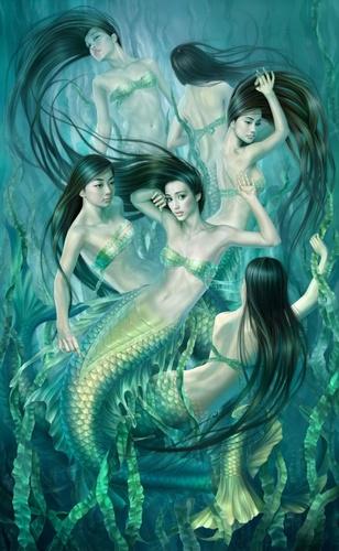 Mermaids wallpaper entitled Mermaids