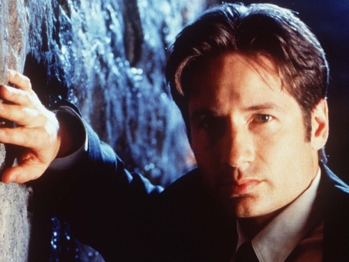 The X-Files achtergrond titled Mulder