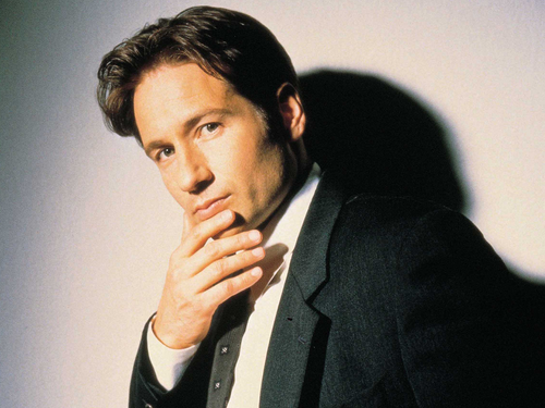 The X-Files wallpaper with a business suit and a suit called Mulder