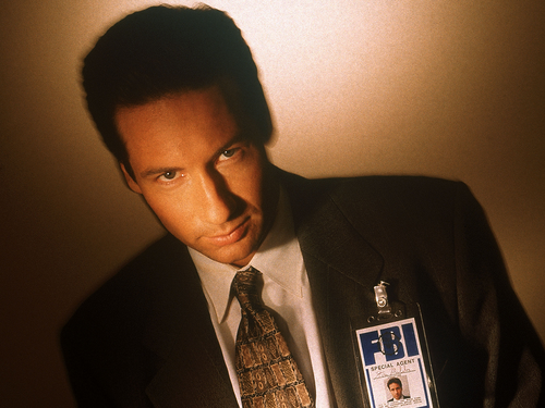 The X-Files wallpaper with a business suit and a suit entitled Mulder