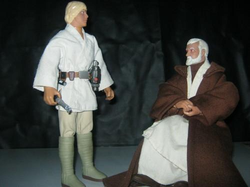 My estrella Wars action figure collection