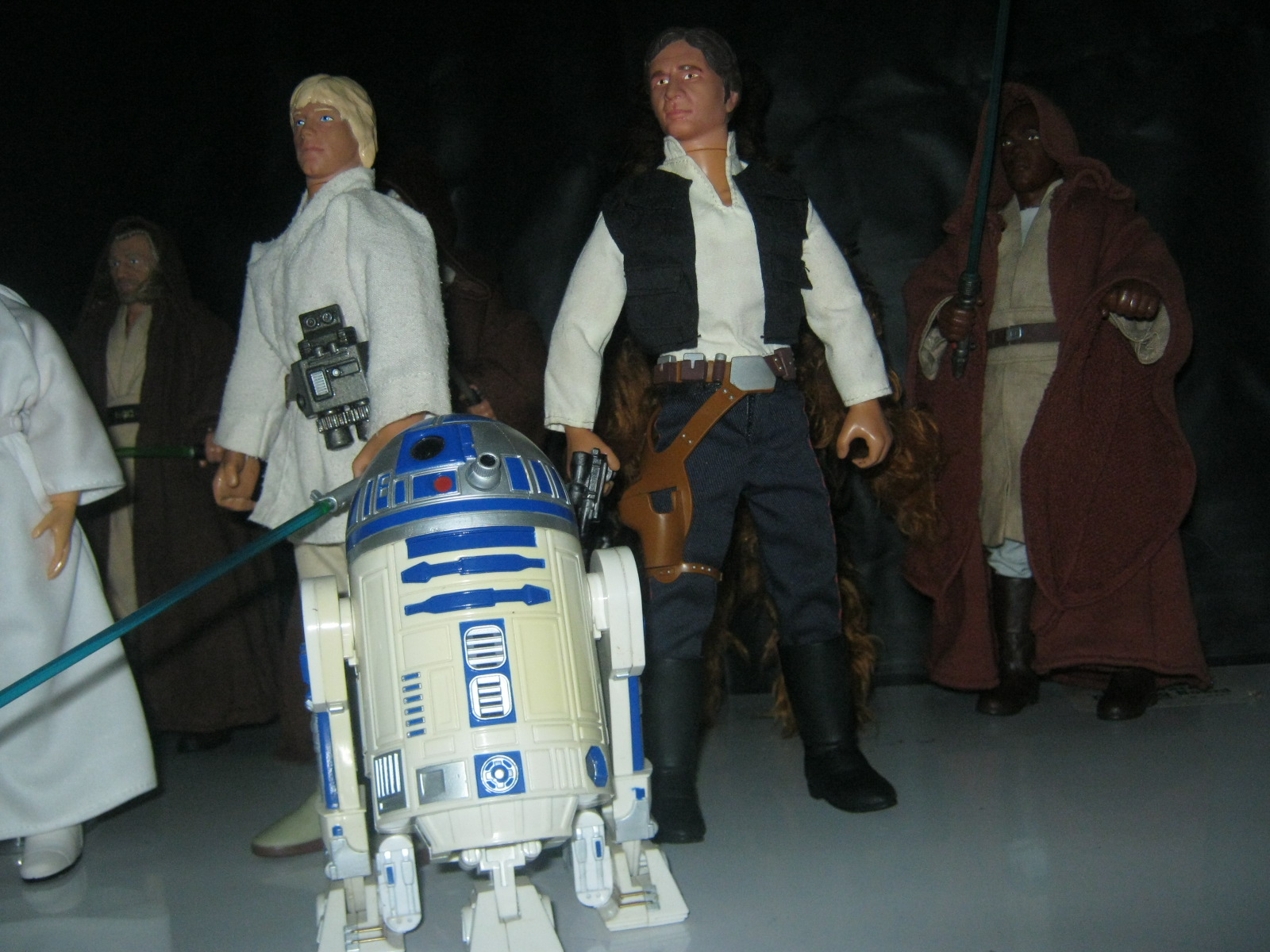 My Star Wars action figure collection