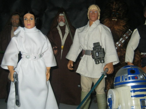 My stella, star Wars action figure collection