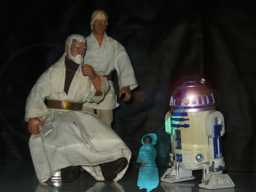 My star, sterne Wars action figure collection