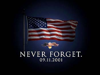 NEVER FORGET 9/11!!