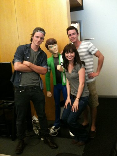 Nathan, Galadriel & Ryan at CN HQ